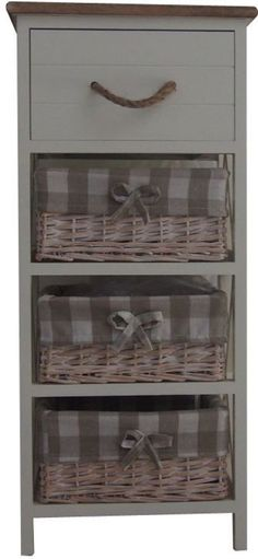 Contemporary Cabinet Drawer Wicker Basket Wood Rope Handles Backed Brown Top #Benzara #Furniture #Drawer #Cabinet #Home