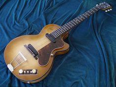 Semi Acoustic Guitar, Archtop Guitar, Vintage Guitars, Ukulele, Music Instruments, Toot, Model, Guitar