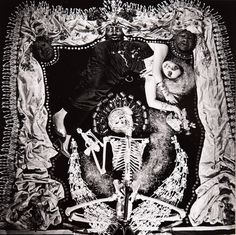 The LSD-inspired photographs of Dali protege Steven Arnold : Grotto of Madame la Mort 1982