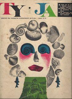 1961 Ty i Ja (You and I) luxury magazine, cover