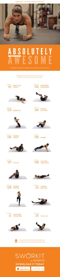 (Abs)olutely Awesome workout!