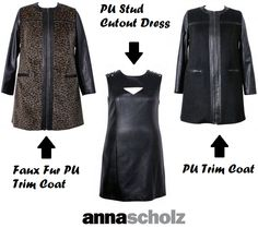 Shapely Chic Sheri - Designer Spotlight: My Top Picks from Anna Scholz Black Label #plussizecoats #plussizefashion #fatshion