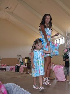 Yes, my daughter and I will have matching Lilly outfits