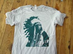 2nd run of our wildly successful Indian t-shirt. $20.00 at http://kongscreenprinting.bigcartel.com