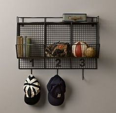 boy's room organization by corine