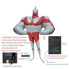 Ultraman.  I made a tutorials about how to paint characters. And i have to apologize if my english language is not good haha, i hope you understand my tutorials and have fun with it. Let's check it out!  #characterdesign #ultraman #conceptart #tutorial