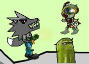 Wolf vs Zombies