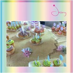 Mesa de cupcakes ! Baby Shower ! Twitter: @Jasny_Pk ! www.Facebook.com/Jasny.pk !