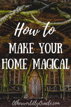 Learn how to make a magical home with cleansing rituals and spiritual protection. PLUS ultimate witchy decorating ideas and gardening! Images Esthétiques, Wiccan Decor, Spiritual Decor, Wiccan Crafts, Spiritual Wellness, Wiccan Spells, Wiccan Symbols, Egyptian Symbols, Wiccan Rituals