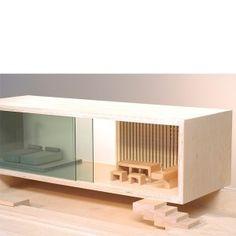 Sibi Villa Sirch Modern Dollhouse by Sibi
