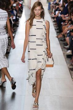 f9e1e23e6fe5 fringe dress    Tory Burch Spring 2015 Ready-to-Wear - Collection