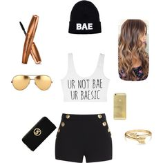 BAE by mckenzie-nemier on Polyvore featuring polyvore, beauty, Linda Farrow, Bling Jewelry, MICHAEL Michael Kors and Boutique Moschino