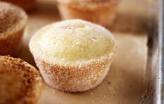 MUFFINS THAT TASTE LIKE DOUGHNUTS RECIPE - Skinny Recipes Skinny Recipes, Ww Recipes, Cake Recipes, Dessert Recipes, Cooking Recipes, Recipies, Weight Watchers Muffins, Weight Watchers Desserts, Doughnut Muffins