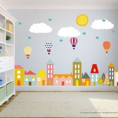 City Wall Decals Wandtattoos Kinderzimmer Baby Wall von BebeDivaBoutique Source by kristycarrod Nursery Wall Stickers, Kids Wall Decals, Nursery Wall Decals, Wall Murals, Playroom Mural, Wall Art, Classroom Decor, Online Classroom, Kids Bedroom