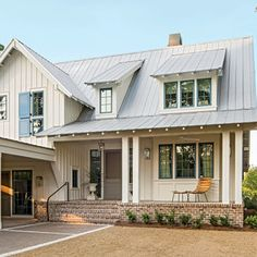 Exterior: The Front - Palmetto Bluff Idea House Photo Tour