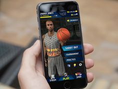 Basketball game/app by navneeτ