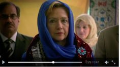 A one-second segment of an October 2015 video tweeted by Hillary Clinton was screencapped to suggest the candidate had donned a hijab for a new campaign ad.
