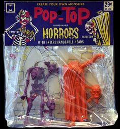Pop-Top Horrors Vampire/Skeleton