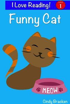 FREE Kids e-Book: Funny Cat {Level 1 Reader}