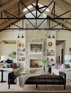Merida Studio for rug, navajo white for paint, jennifer robin interiors
