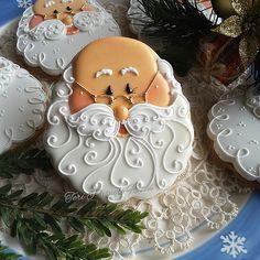Santa Christmas cookies | by teripringlewood