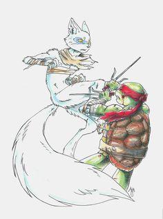 Raphael vs Alopex by JayJayRey.deviantart.com on @deviantART