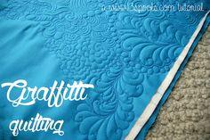 Graffitti Quilting: A 13 Spools Tutorial - 13 Spools. xxx