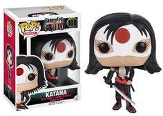 figurine funko pop katana suicide squad