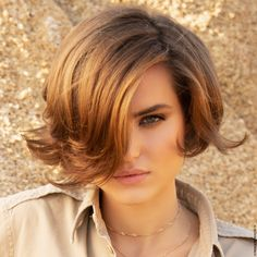 Look Franck Provost Short Bob Hairstyles, Summer Hairstyles, Franck Provost, French Summer, About Hair, Short Hair Styles, Hair Color, Album Photo, Hair Ideas