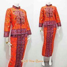 Setelan batik cantik