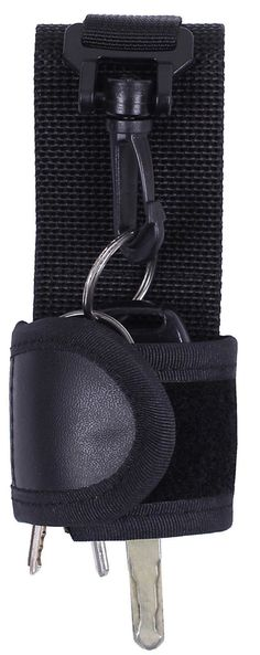 Black Law Enforcement Duty Belt Silent Key Holder