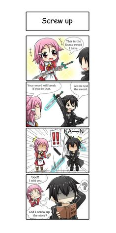 SAO FA - screw up? by GreenTeaNeko on DeviantArt