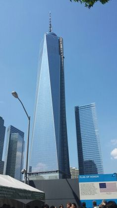 One World Trade Center. All 1, 776 ft of her