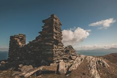 Inishturk Signal Tower, which was built around is located at the highest point of the island; Photo by Mark Furniss Photography Connemara, Old Stone, Beauty Photos, West Coast, Monument Valley, Ireland, Landscapes, Tower, Adventure