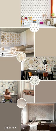 Ecru Self-Adhesive Wall Murals ✓ Eco-Friendly ✓ Online Configuration ✓ We will help you choose a pattern!