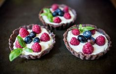 Gluten free Chocolate Fruit Tart. Recipe here - http://www.glutenfreebaking.co.uk/wp-content/uploads/2016/08/Summer-Recipes.pdf