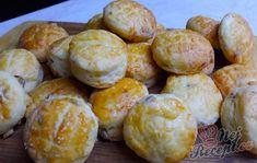 Máslové pagáče | NejRecept.cz Thing 1, Bread And Pastries, Pretzel Bites, Quiche, Biscuits, Food And Drink, Recipes, Pizza, Yoga