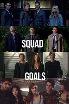 Only the best: The Originals - Supernatural - The Vampire Diaries - Teen Wolf