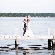 Oh so in love with this breathtaking @lakelawnresort wedding   @chellymatsonphoto @verasbridal @menswearhouse