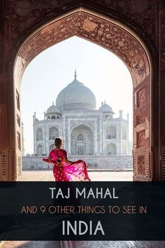 Of the many draws to India, the Taj Mahal is arguably the most popular with tourists the world over with over 3 million visitors each year. The mausoleum serves as an iconic example of ancient Indian architecture and is widely regarded as one of the most beautiful buildings ever created. But India is a country with so much more to see. Read the travel guide and learn about all the other highlights. India Travel Guide, Asia Travel, Agra Fort, Jain Temple, Indian Architecture, 11th Century, Beautiful Buildings, Continents, Travel Guides