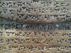 I have seen writing like this in dreams & visions. Beautiful Cuneiform writing from Mesopotamia Ancient Mesopotamia, Ancient Civilizations, Ancient Egypt, Ancient History, Emerald Tablets Of Thoth, Ancient Scripts, Archaeological Discoveries, Roman History, Ancient Artifacts