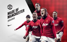 Football Players Free Wallpapers  Manchester United 2013 Hd Wallpapers