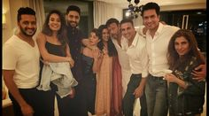 Asin hosts dinner for friend Akshay Kumar's 'Housefull 3' cast