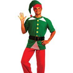 Jolly Christmas Elf Kit #christmaself #santashirts