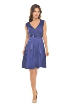 Amazon.com: The Olian Cap Sleeve Wrap around Rayon Knit Sash Dress: Clothing