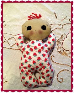 Handmade hugable baby doll baby safe by MimiskidsTreasures on Etsy