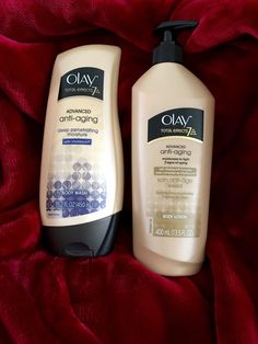 Olay Total Effects Advanced Anti Aging Body Lotion 7 in 1 Body Wash New SEALED | eBay