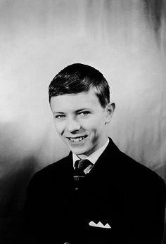 David Bowie at school 1953-1963