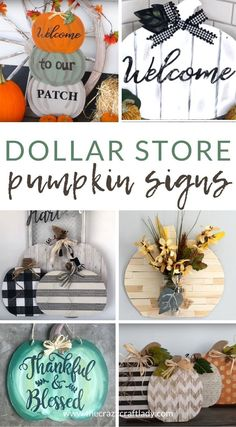 Dollar Tree Pumpkins, Dollar Tree Fall, Dollar Tree Decor, Dollar Tree Crafts, Dollar Tree Gift Bags, Dollar Tree Centerpieces, Wood Pumpkins, Dollar Tree Store, Hanger Crafts