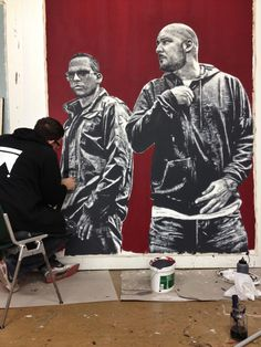 Painting for Xavas 4 Life, Hip Hop, Stars, Pictures, Painting, Movie, Music, Photos, Hiphop